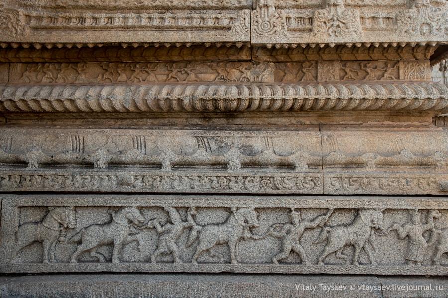 Sculptures of Vijayanagar empire, Karnataka, India