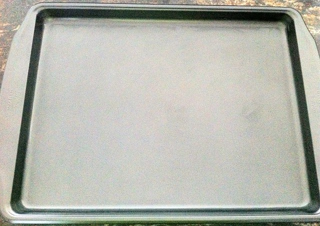 Greased Half Sheet Pan