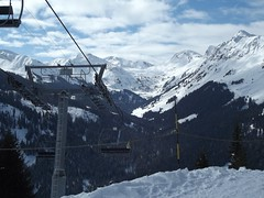 alps, mountain, winter, snow, mountain range, summit, cable car, mountainous landforms,