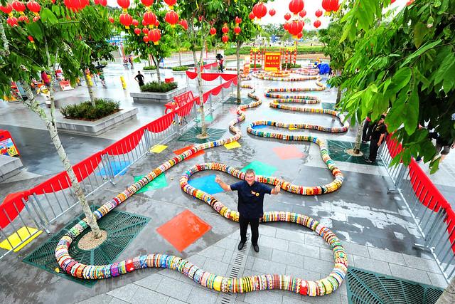 LEGOLAND Malaysia World's Longest LEGO Snake (26)