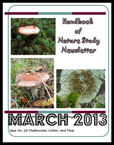 Handbook of Nature Study March Newsletter Cover Button