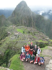peru group in front of machu pichu