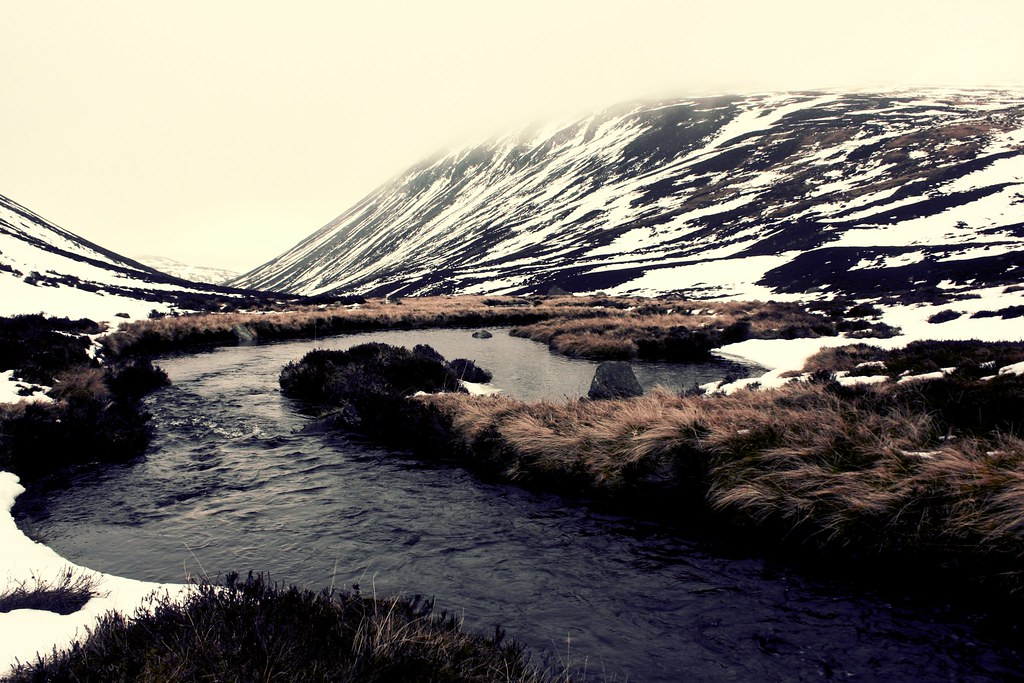 River in Upper Glen Gairn