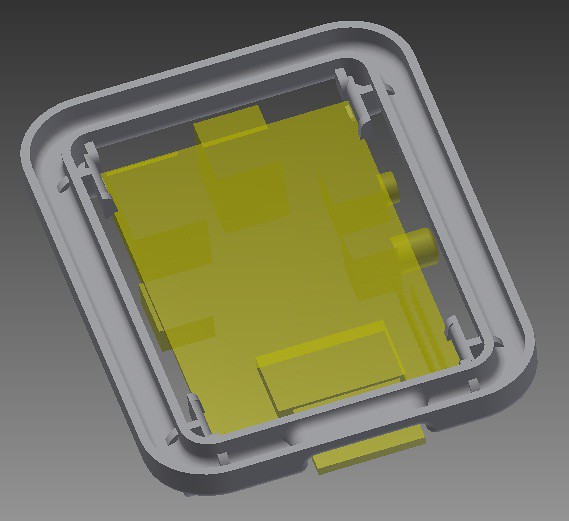 rPi case clips V2.0