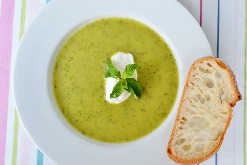 supa de zucchini