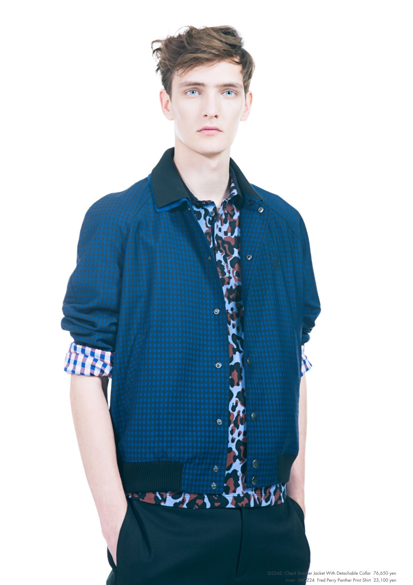 Yannick Abrath0039_Raf Simons × Fred Perry SS13