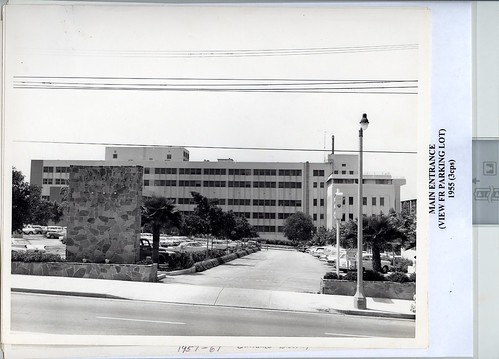 1955 Hospital from Parking Lot0001