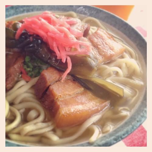 SanmaiNiku-Soba,Miyasato,Nago,OKINAWA