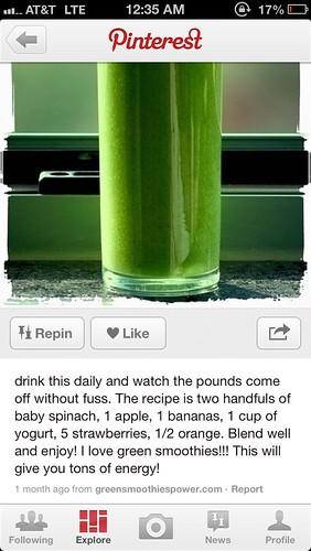 Healthy recipes.