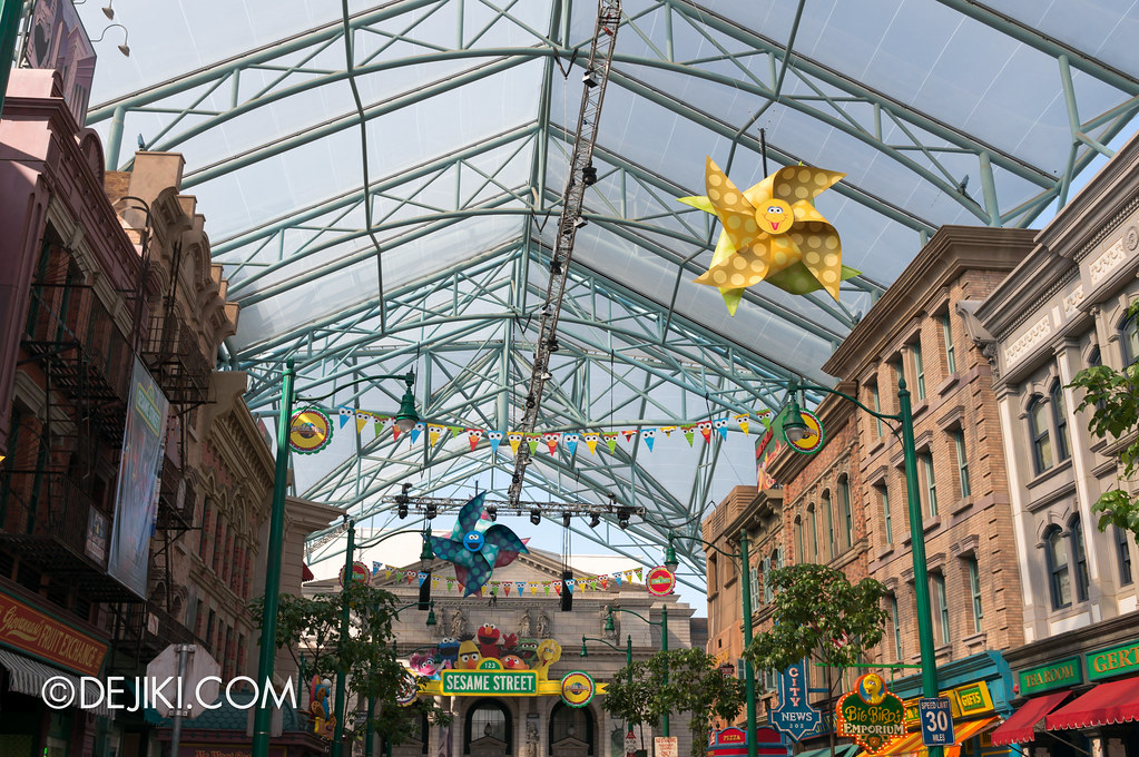 Buntings and Pinwheels for Sesame Street Carnival
