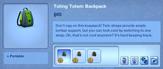 Toting Totem Backpack