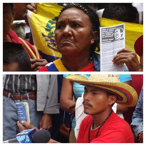 Solidaridad con el pueblo yukpa. Víctimas del exterminio y la indolencia.