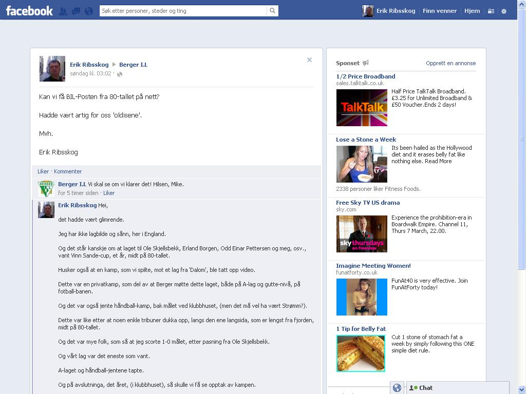berger il facebook