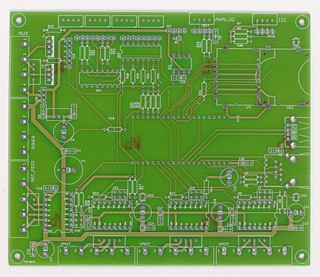 LaOS PCB redesign (component side)