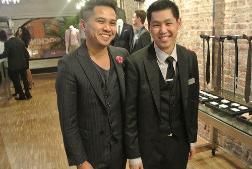 Heikal Gani, President and Lenny Goh, Social Media Manager