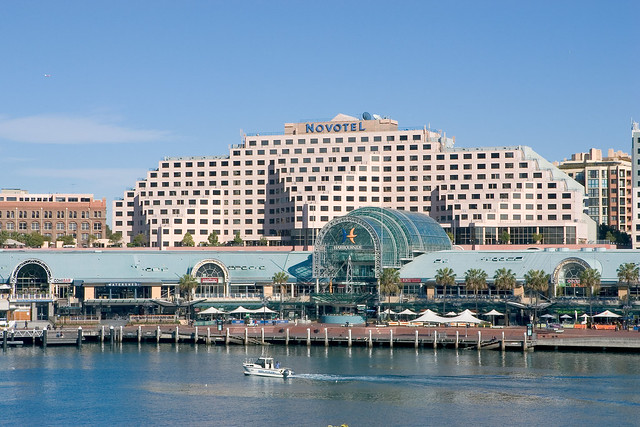 The Novotel Sydney on Darling Harbour