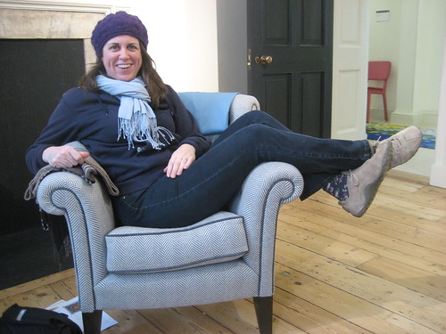 Lounging around in Somerset House