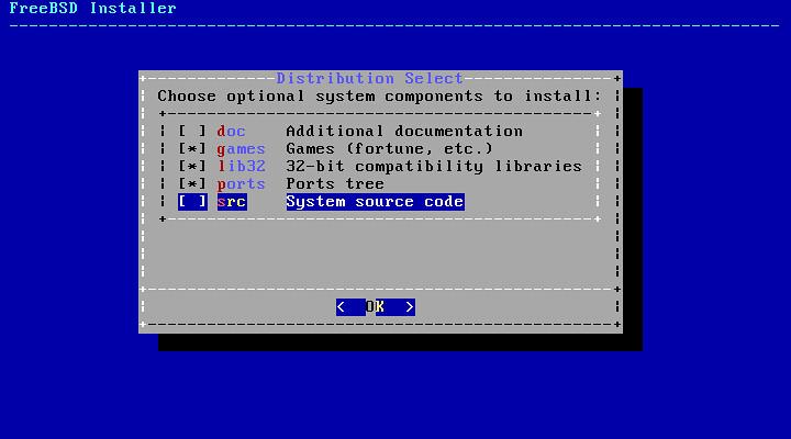 Центр приложений в FreeBSD