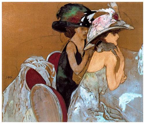004-Dos damas-Xavier Gose- via ciudad de la pintura