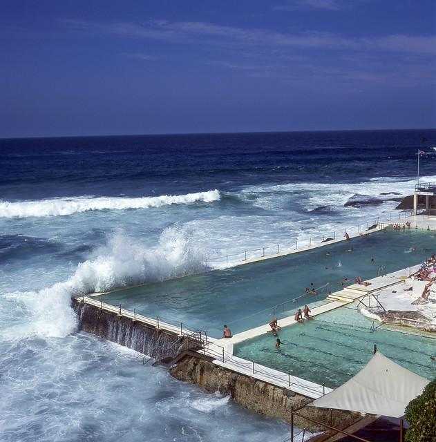 Bondi Icebergs swimming pool - not bad for an old film camera :)