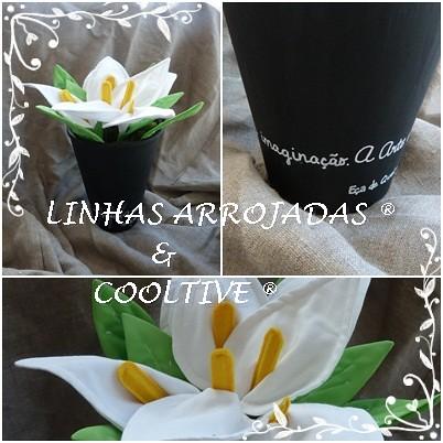 JARROS E VASO PRETO by Linhas Arrojadas Atelier de Costura ® Trademark