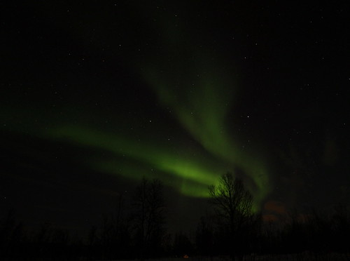 Northern Lights outside Tromso