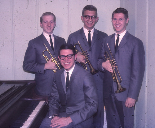 Ambassador Quartet -Phil Logan,DaveBrown,Dave Biberstein, Jay Platter @ piano 1965