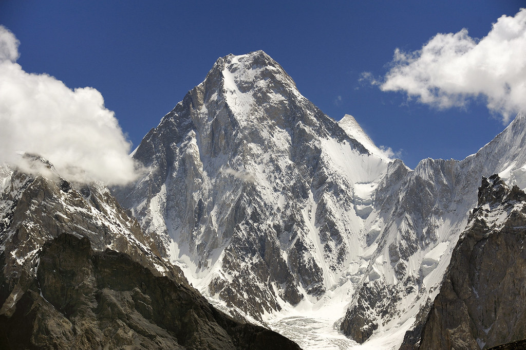 Gasherbrum IV (7925) and Gasherbum II (8035), Karakorum