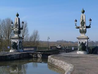 Imagen del Puente canal de Briare (Valle del Loira, Francia)