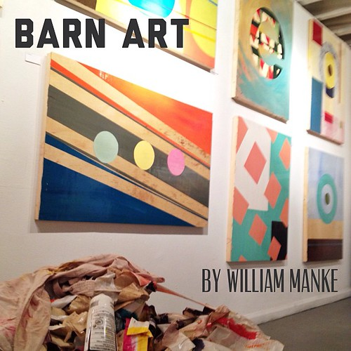 Loved this show by William Manke now showing at Pirate Gallery in #Denver #art