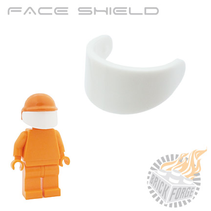 Face Shield - White