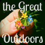 The Great Outdoors Button - Photo Style