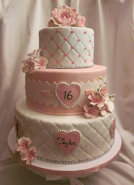 Taylor S Sweet Sixteen Cake Explore Cakesbymonica S
