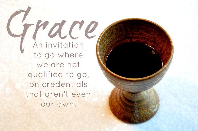 grace, communion cup