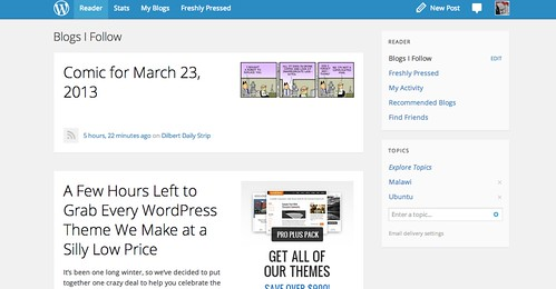 Wordpress Reader