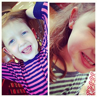 New earrings. We see who the wild one is and who the conservative one is  #sawyergrace #aidkaid #ilivewithkesha