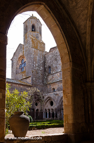 Campanario de la Abadía de Fontfroide