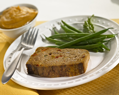 Old Fashioned Meatloaf With Tomato Gravy