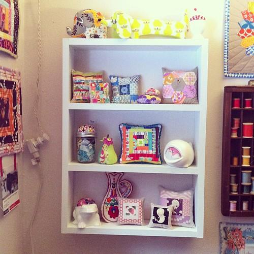 Pincushion Shelf by Jeni Baker