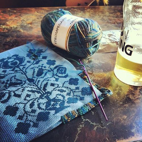 Prepping #yarn #yarngraffiti #yarnbombing