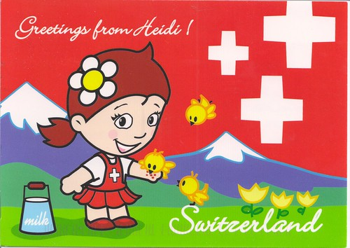 Greetings from Heidi-Switzerland