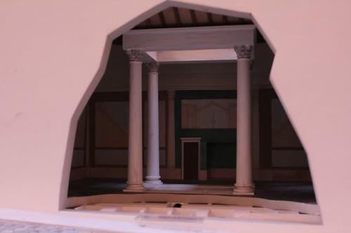 Particolare di casa romana