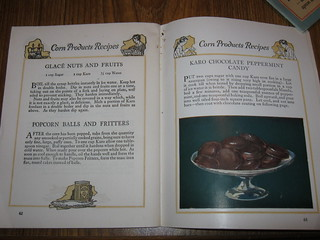 Page from Proven Recipes - Corn