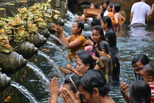 Bali Temple Pool