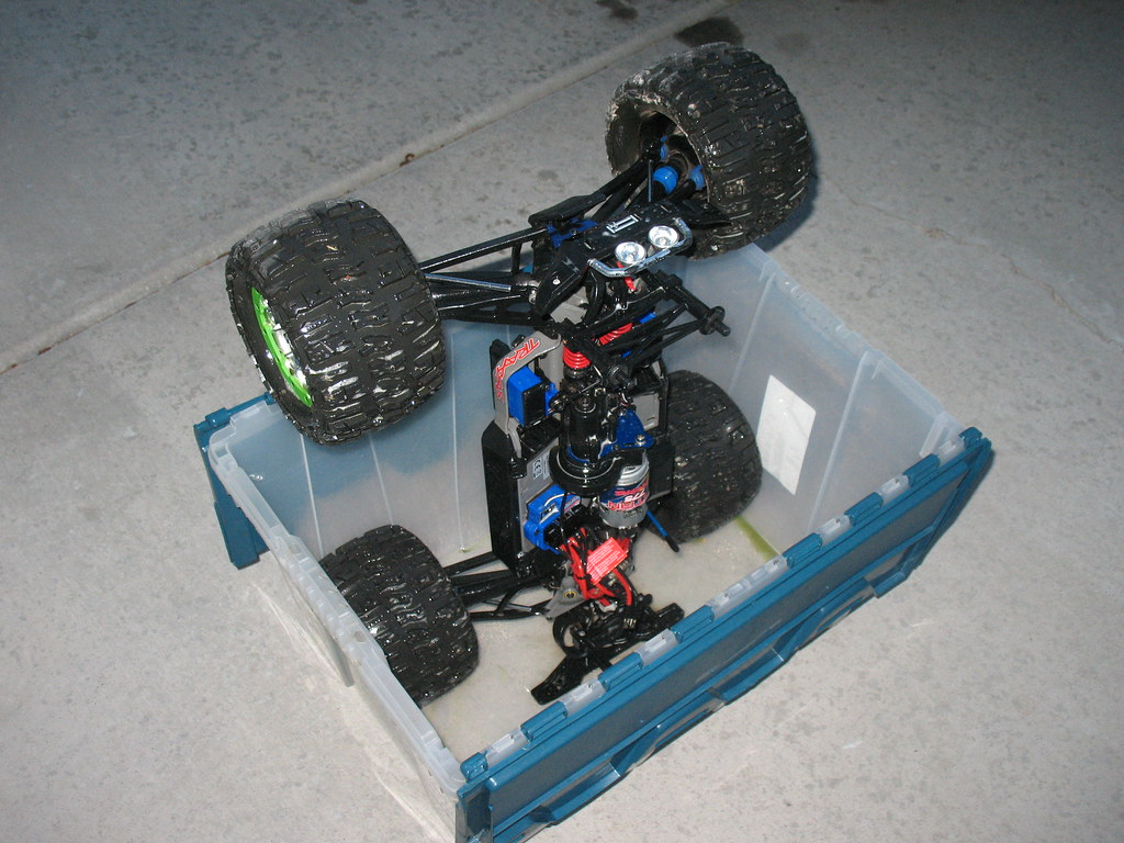 My way of how to clean your rc car picture heavy for Stepper motor rc car