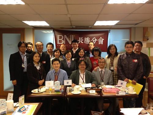 BNI長勝分會:新任期第一次開會大合照2013.04.02(二) by bangdoll@flickr