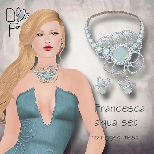FRANCESCA aqua set