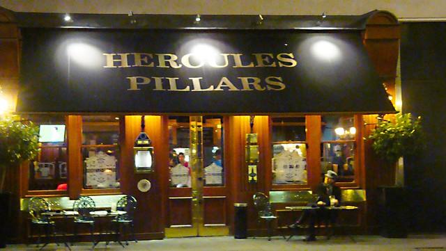 Hercules Pillars Night