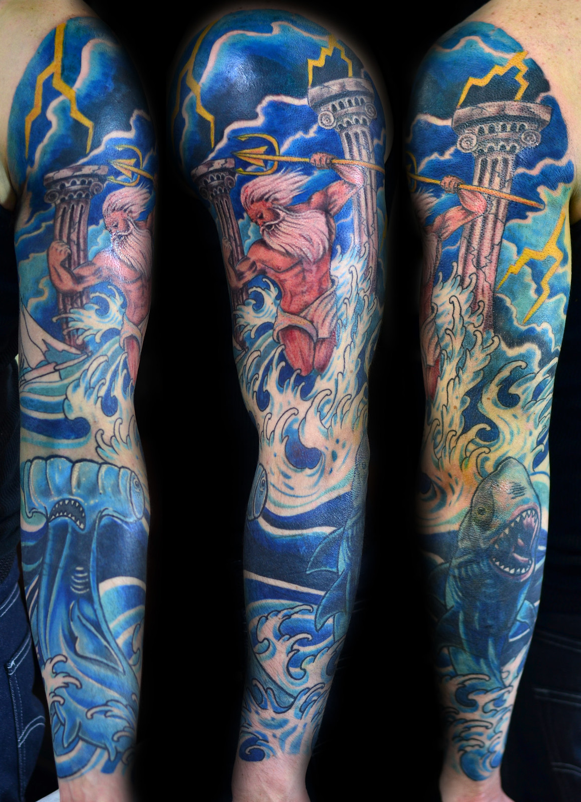 The gallery for zeus and hades tattoo for Zeus tattoo designs