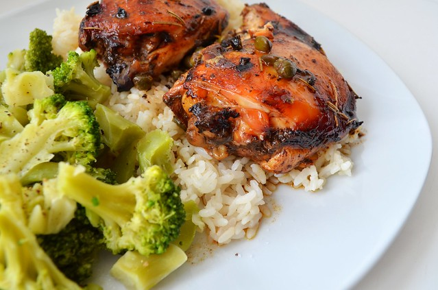 Balsamic Chicken Thighs